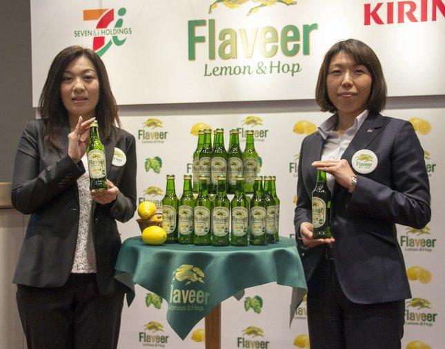 キリンビールの中川紅子さん(左)とセブン&アイ・ホールディングスの吉村典子さん(右)