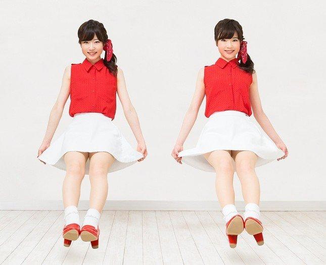 日本初のフリー素材タレントとなった「MIKA☆RIKA」の二人