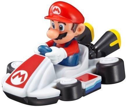 マリオのフィギュアが乗ったカート型おもちゃ (C)2014 Nintendo Licensed by Nintendo