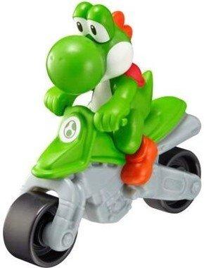 ヨッシーのフィギュアが乗ったバイク型おもちゃ (C)2014 Nintendo Licensed by Nintendo