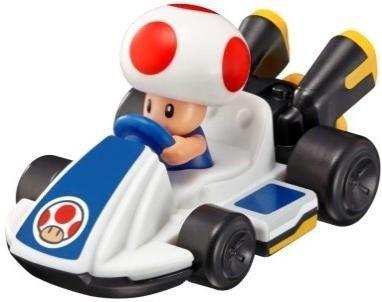 キノピオのフィギュアが乗ったカート型のおもちゃ (C)2014 Nintendo Licensed by Nintendo