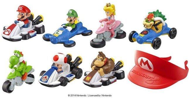 全8種類のおもちゃをラインアップ (C)2014 Nintendo Licensed by Nintendo