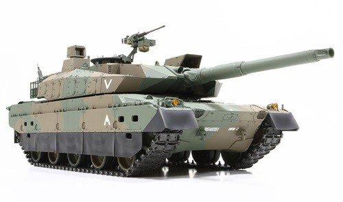 陸上自衛隊 10式戦車 フルオペレーションセット(プロポ付)