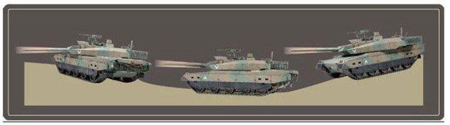 「砲身制御システム」のイメージ