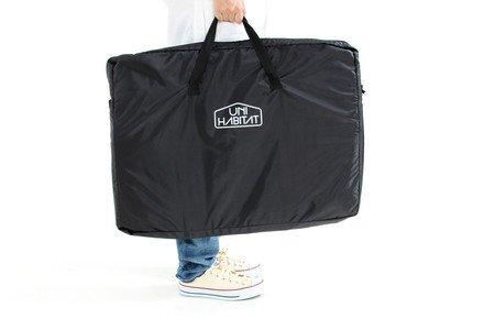 キャリーバッグつきで持ち運び簡単