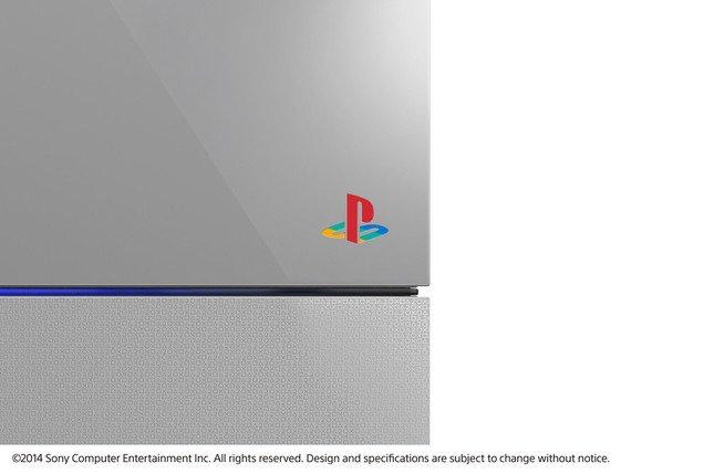 PSファミリーマークは初代PSを意識した配色に