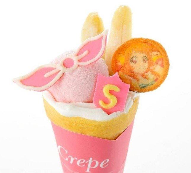 「ポンポン…ポーン☆あかりのPONPONクレープ」(650円)