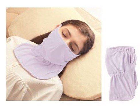 睡眠中に首までしっかりうるおうマスク