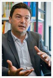 パリ経済学校教授、社会科学高等研究院教授のピケティ氏