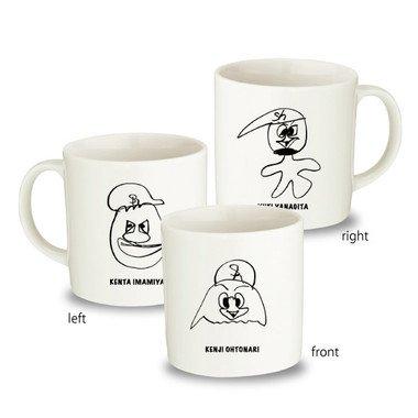 「ハリー・ホーク」のマグカップ