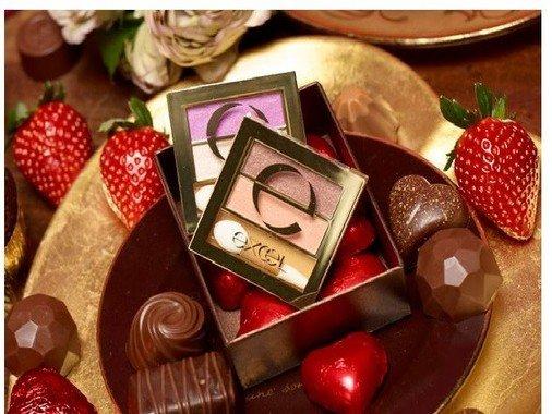 バレンタインに向けた大人ビターなチョコレートカラー