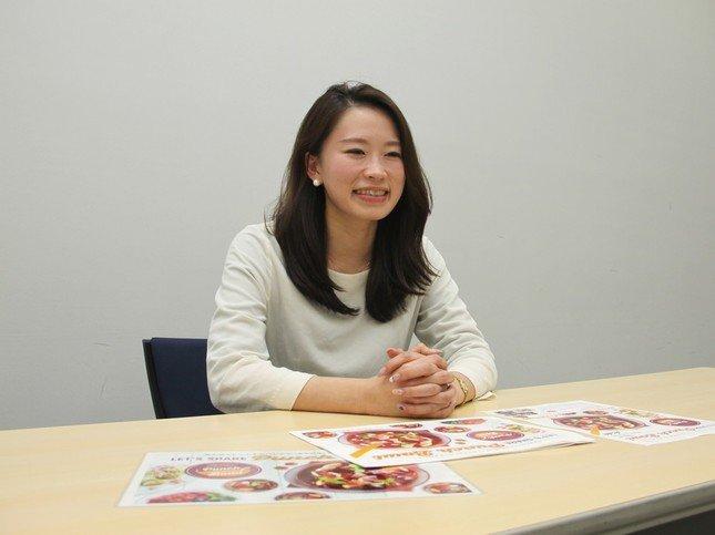 アサヒビール東京統括支社・新宿支店の大河原由美子さん
