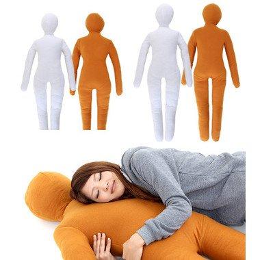 人型にデザインした抱き枕「綿嫁」「綿旦那」