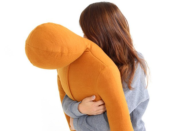 抱きしめ甲斐のあるサイズ