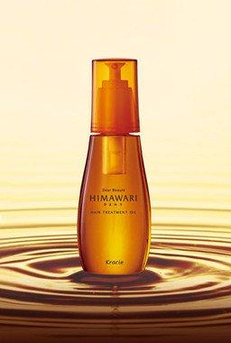 高濃度オーガニックヒマワリオイルが髪のゆがみを補修!