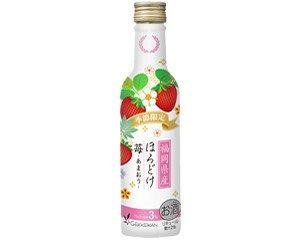 日本酒と果汁が調和したほんのり甘い味わい