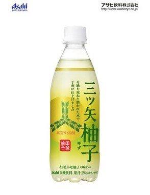 「三ツ矢 柚子 PET500ml」