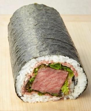 キッチンスギモト「松阪牛ステーキと黒毛和牛ローストビーフの恵方巻」