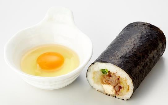 キッチンスギモト「尾張牛すき鍋恵方巻(名古屋コーチン生卵付)」