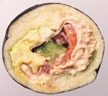 パン・リゾッタ「恵方巻サンド(エッグ&ツナ)」
