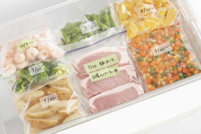 冷蔵庫(-4℃)、冷凍庫(-18℃)内でも使用可