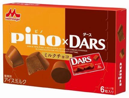DARSの味わいをピノで表現
