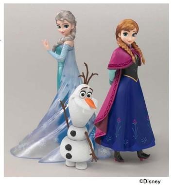 3体特別セット『フィギュアーツZERO Frozen Special Box』 (C)Disney