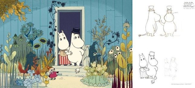 (C)2014 Handle Productions Oy & Pictack Cie (C)Moomin Character