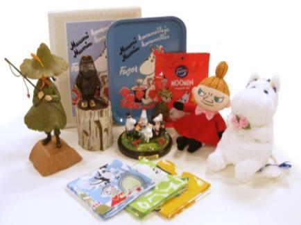 人気の最新グッズと限定商品を揃える期間限定ショップ (C)Moomin Characters