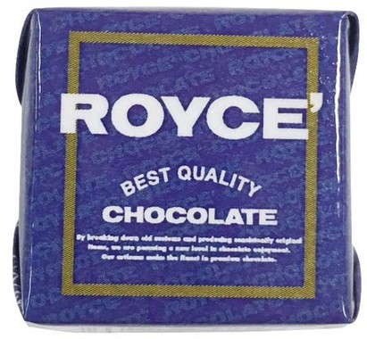 ロイズの生チョコの味わいが手軽に楽しめる