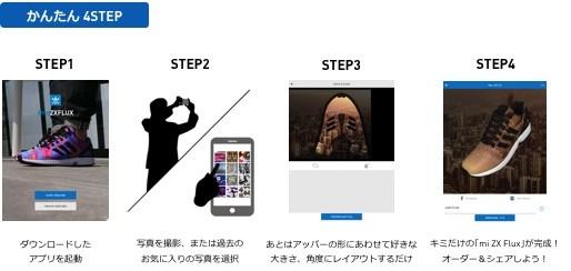 デザインからオーダーまで簡単4ステップ