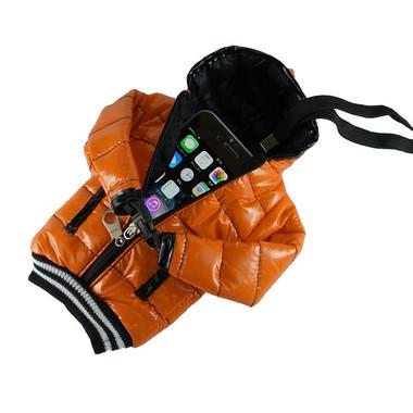 「GauGau SmartPhone Down Jacket Style Case」