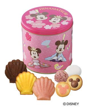 ひなギフト缶・ディズニー(7種9個入)