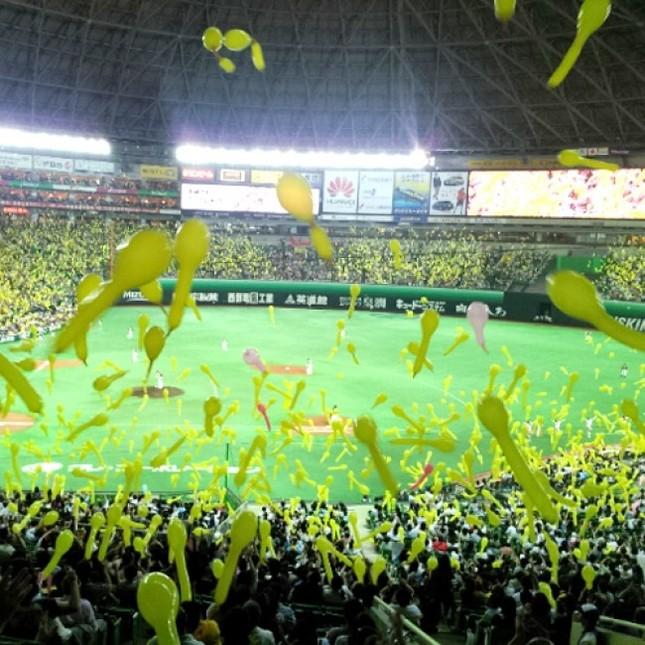 福岡ヤフオク!ドームのホークス公式戦全試合が対象