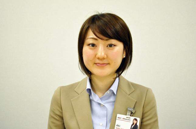 楽天カード・カード企画部の矢部明子さん