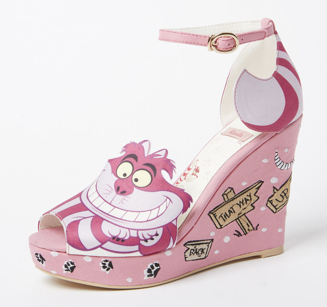 Cheshire cat wedges