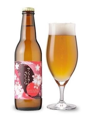 ほんのりとした桜餅風味のビール