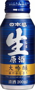 生原酒 大吟醸200mlボトル缶