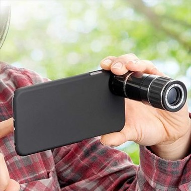 「iPhone6望遠レンズキット400-CAM046」