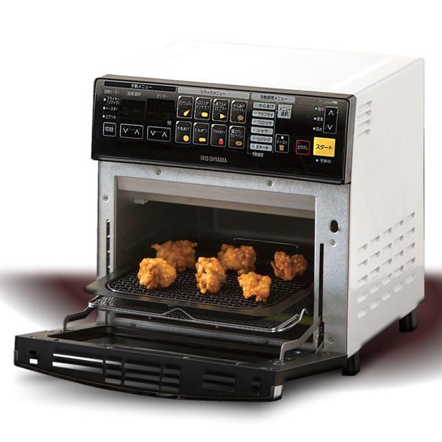 メニュー別の簡単調理も、総菜の温め直し(リクック)もヘルシーに