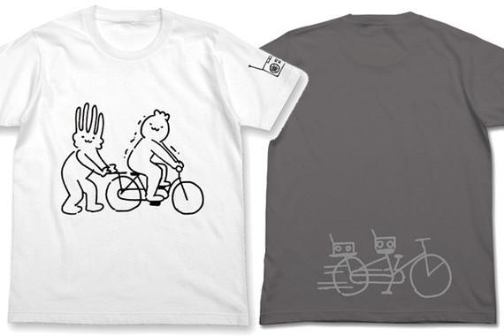 「メロンコリニスタ 自転車Tシャツ」