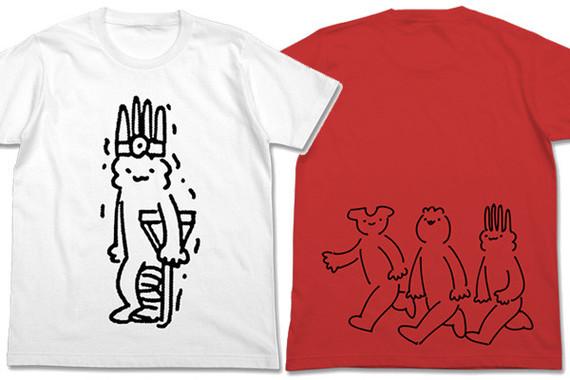 「メロンコリニスタ 松葉杖Tシャツ」