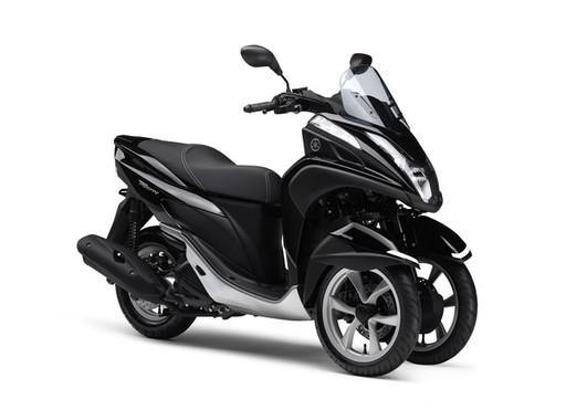 TRICITY MW125 ABS(ブラックメタリックX)