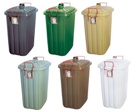 ゴミ箱は全6色