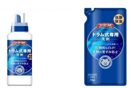 少量の水でも高い洗浄力と防臭効果