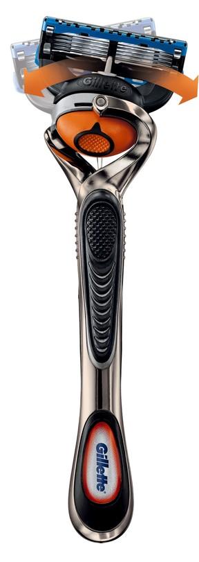 「ジレット プログライド フレックスボール」の剃り味がすごい 顔に刃が密着して、剃り残しなし