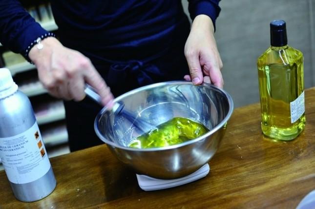 良質のオーガニック油を使用
