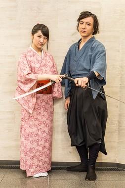 左から今出舞さん、竹石悟朗さん