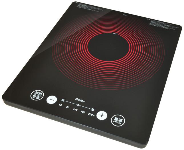 うす型フラットIH調理器 DI-301
