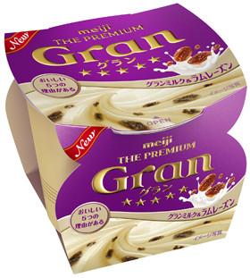 meiji THE PREMIUM Gran グランミルク&ラムレーズン